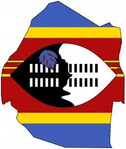 swaziland_flag_map